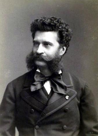 Young Johann Strauss II, mid 1800s, Wikimedia Commons