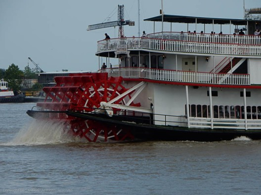 Paddlewheel Riverboat by Dan Antion