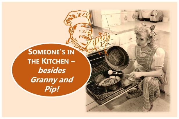 A Ghost in the Kitchen -- Three Ingredients 2. Image by Teagan R. Geneviene