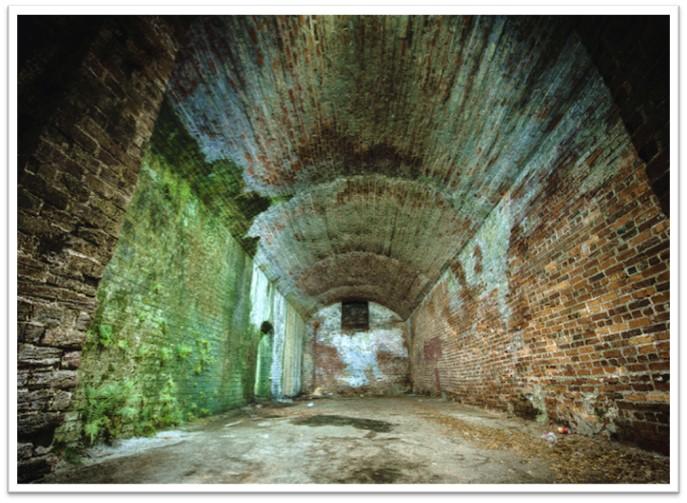 A hidden tunnel in Savannah, GA