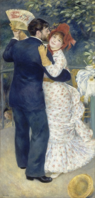 Dance in the Country Pierre-Auguste Renoir 1883 Wikipedia