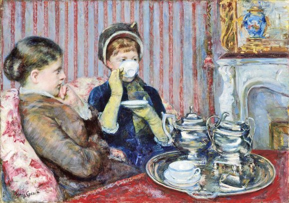 Tea by Mary Cassatt, 1880