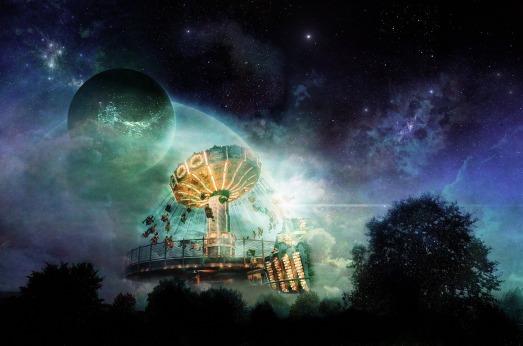 Carousel fantasy moon Michael Seibt Pixabay