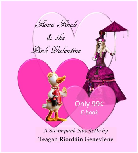 Fiona Finch n the Pink Valentine PROMO