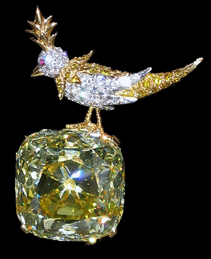 Bird on a Rock Tiffany Yellow Diamond Wikipedia
