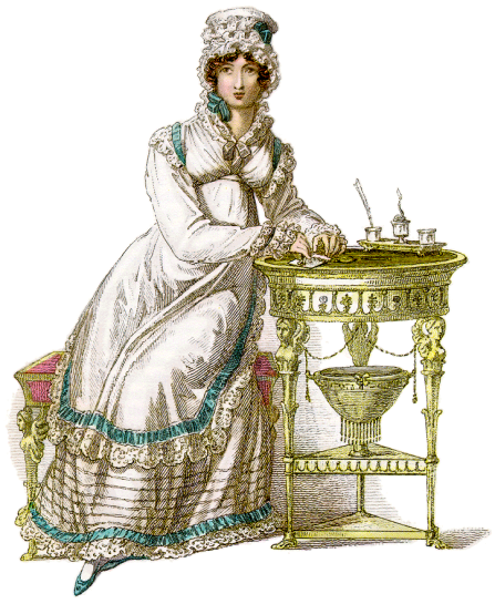 Morning-dress Ackermanns Repository 1820 Wikimedia