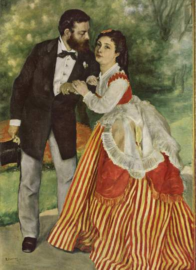 Alfred Sisley and Wife Pierre Auguste Renoir 1868 Wikipedia