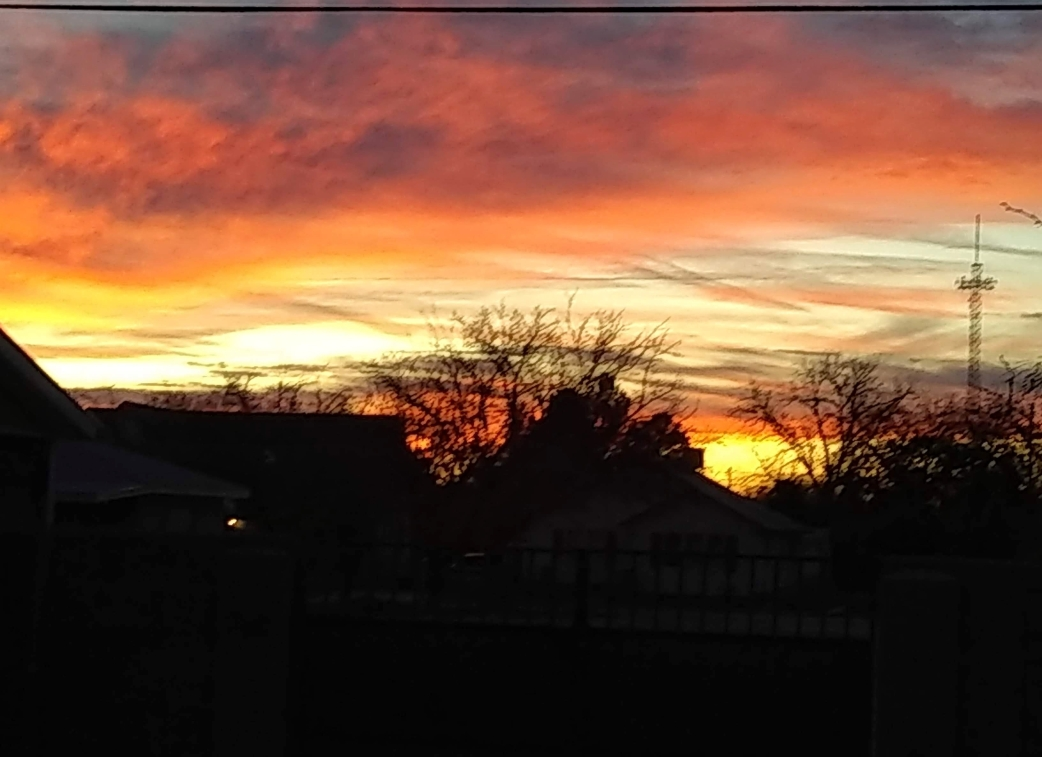 Blazing sunset 2019