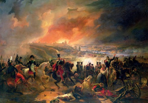 The Battle of Smolensk Jean-Charles Langlois 1839 Wikipedia
