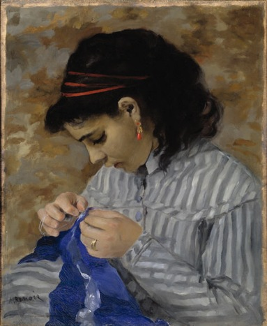 Lise Sewing Renoir 1866 Wikipedia