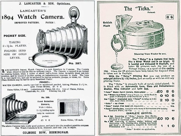 Victorian Watch Camera ads