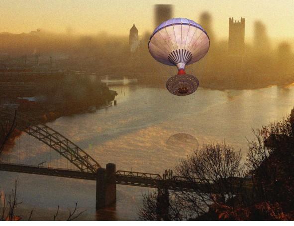 Dan's River Confluence Steampunk Balloon Teagan Geneviene