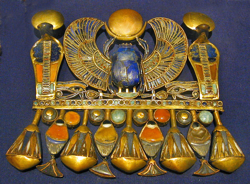 Scarab pectoral belonging to Tutankhamun Wikipedia