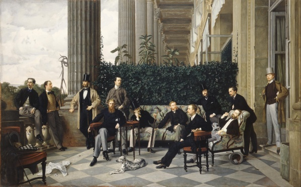 The Circle of the Rue Royale James Tissot 1868 Wikipedia