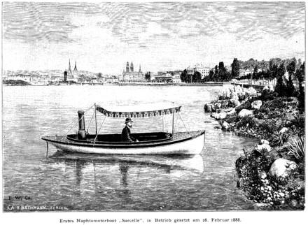 An Escher Wyss naptha launch 1888 Wikipedia