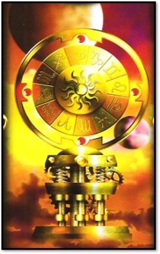 Gilded Wheel closeup Ciro Marchetti