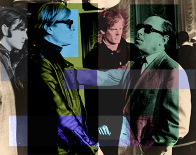 Andy Warhol and Tennessee Williams, Wikipedia. Tomfoolery by Teagan