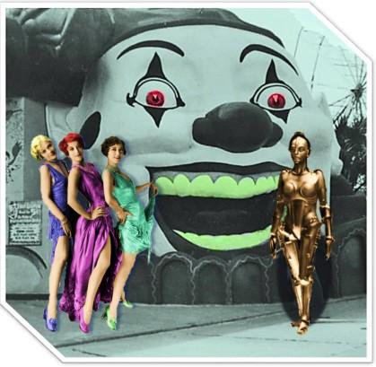 "Pearl, Lulu, Rose, & Bot in ""Sideways"" Atlantic City, by Teagan R Geneviene"