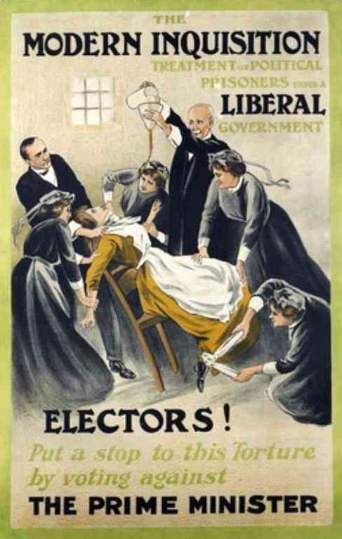 Women's Social and Political Union poster suffragettes Wikipedia 1910