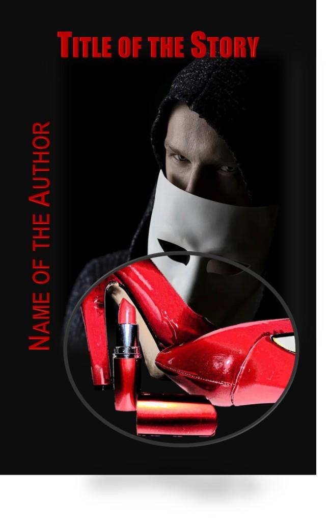 Group I. Black & Red, Man Hood Mask, Red Shoes