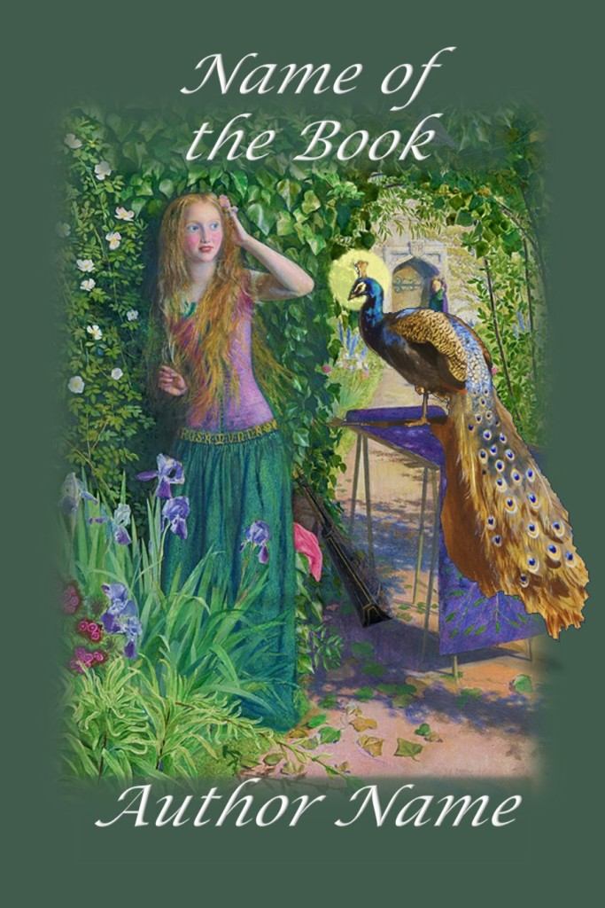 Group I. Girl with Peacock in Garden