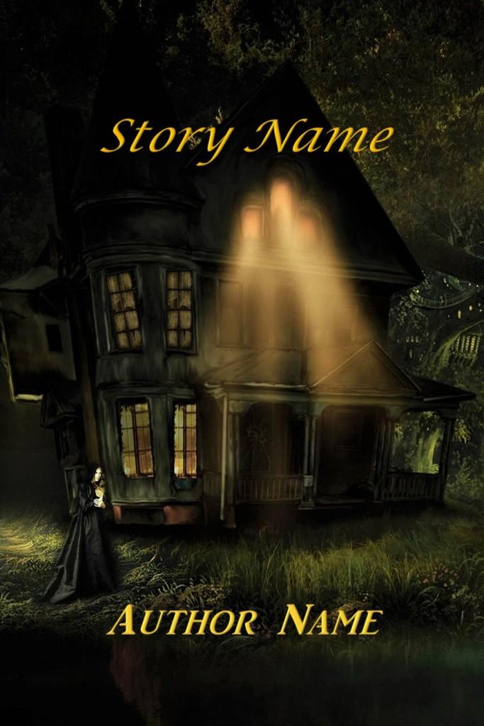 Group II. Fantasy, Horror, Woman, Creepy House, Dark