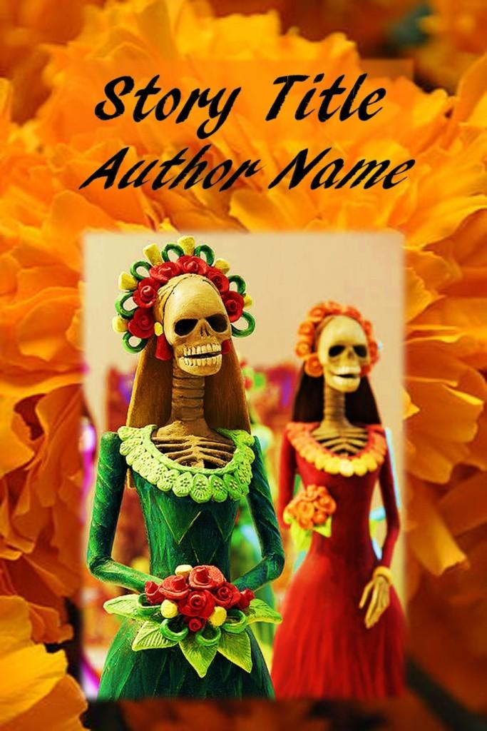 Group II. Hispanic Culture, Day of the Dead, Día de Muertos, 2 Calacas Skeletons