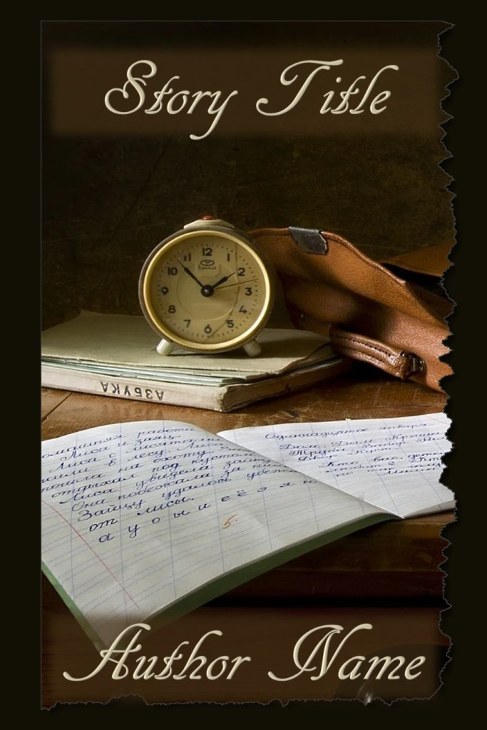 Group II. Notebook, Old Clock
