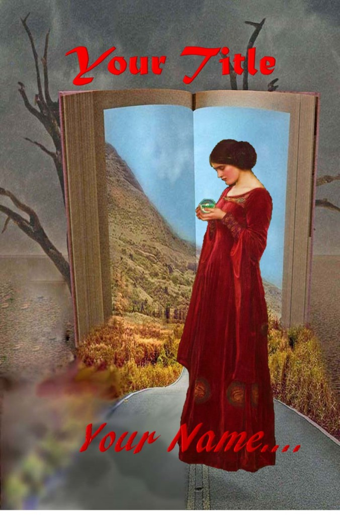Group I. Fantasy, Speculative Fiction, Desert, Road, Woman, Book