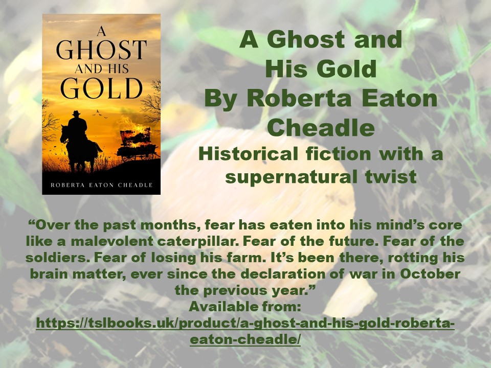 Ghost n Gold Roberta Cheadle