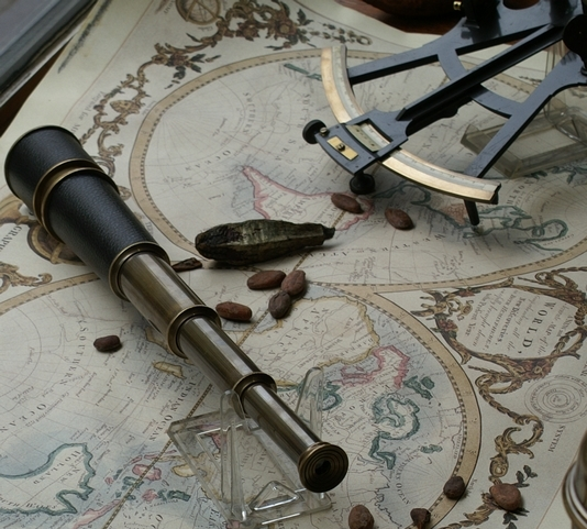 Wikipedia Spy glass Telescope Sexton map