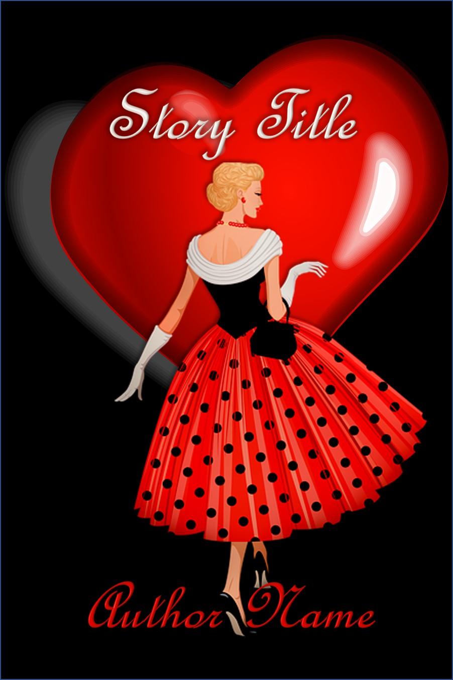 Group I. Vintage Valentine Woman