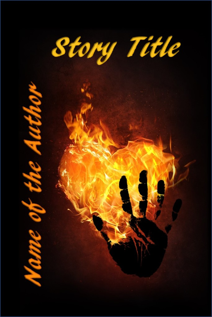 Group II. Burning Heart Hand Print