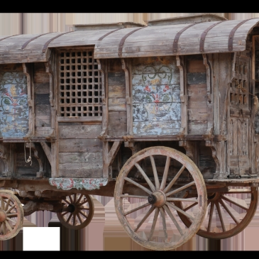 Gypsy wagon old dreamstime