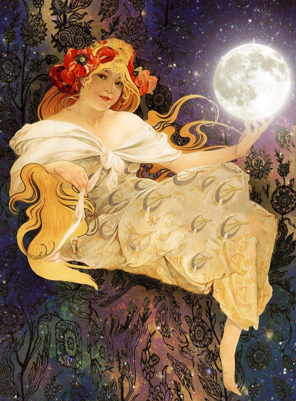 goddess Prettysleepy Pixabay