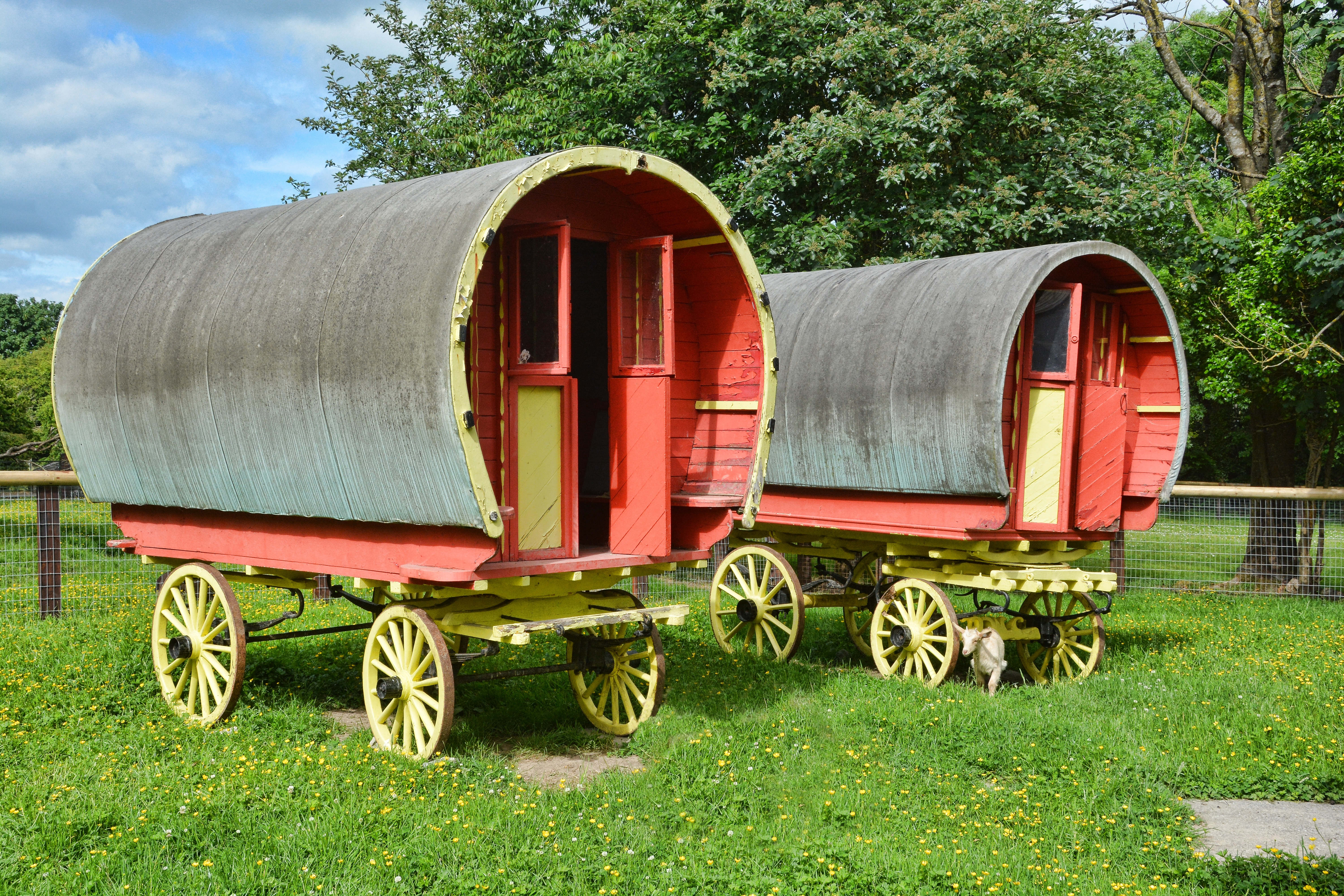 Gypsy wagons 2 rounded dreamstime