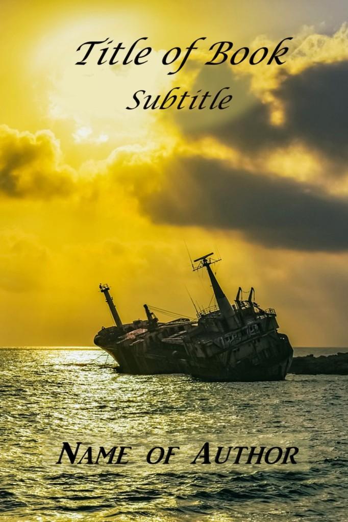 Group II. Shipwreck golden sky