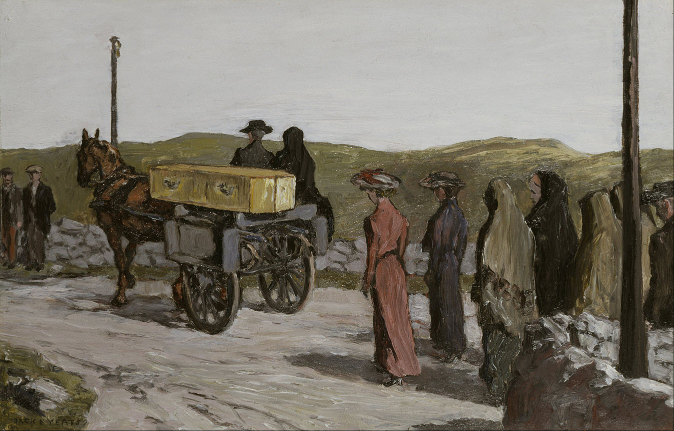 The Swinford Funeral, Jack B Yeats 1918. Wikipedia