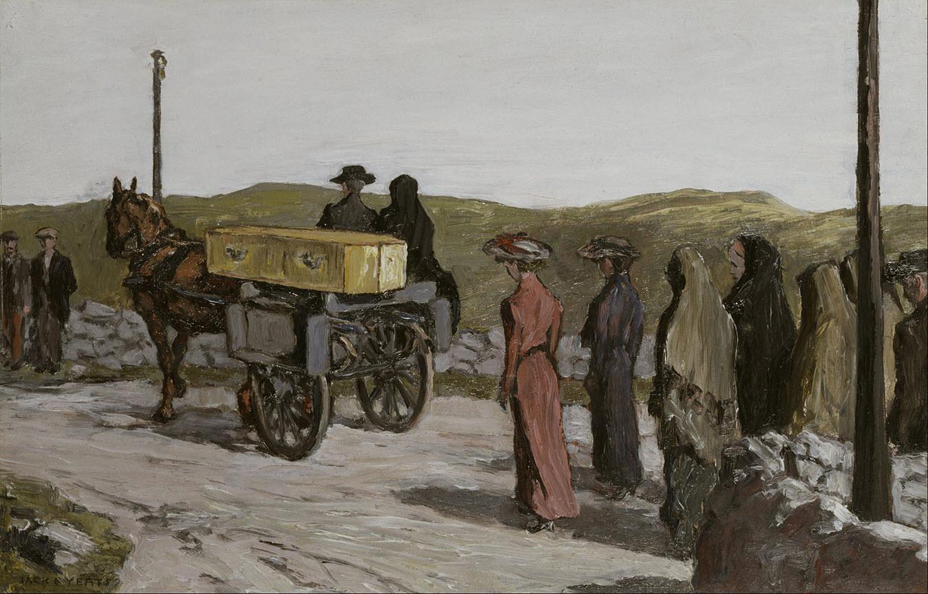 The Swinford Funeral, Jack B Yeats 1918. Wikipedia