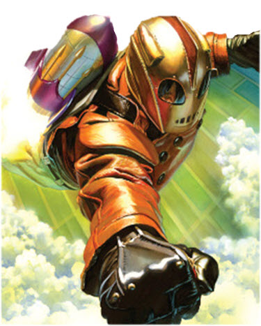 Rocketeer, Wikipedia, altered image.
