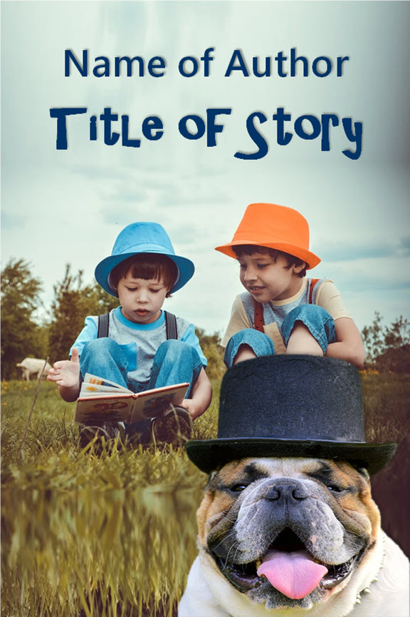 Group I. Boys and Pug with Hat