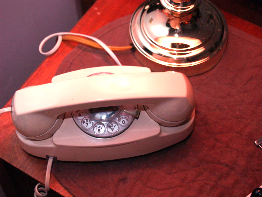 Vintage princess phone by Dan Antion