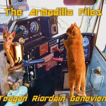 2 Cats drive TROLLEY Armadillo Files