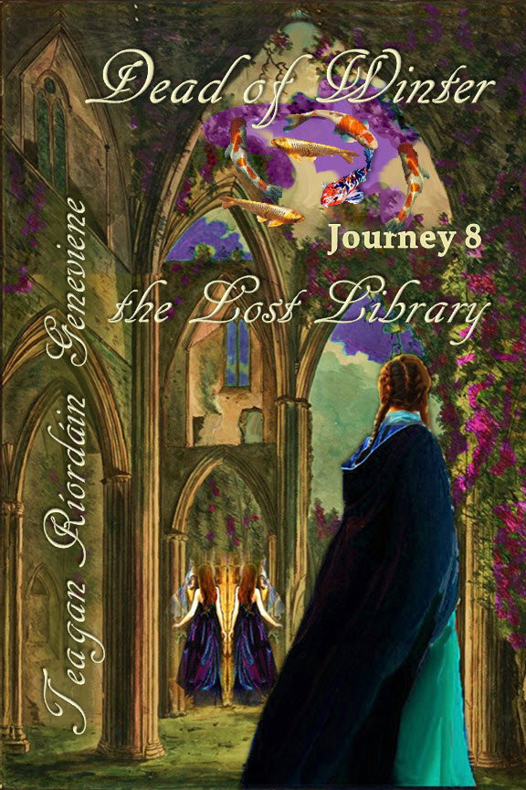 Dead of Winter Journey 8 The Lost Library by Teagan R Geneviene