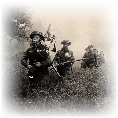 piper leads 7th Seaforth Highlanders 15th Scottish Division June 26 1944 Wikipedia altered