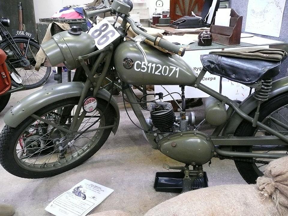 Folding Motorcycle Royal Enfield Flying Flea 1942 Wikipedia