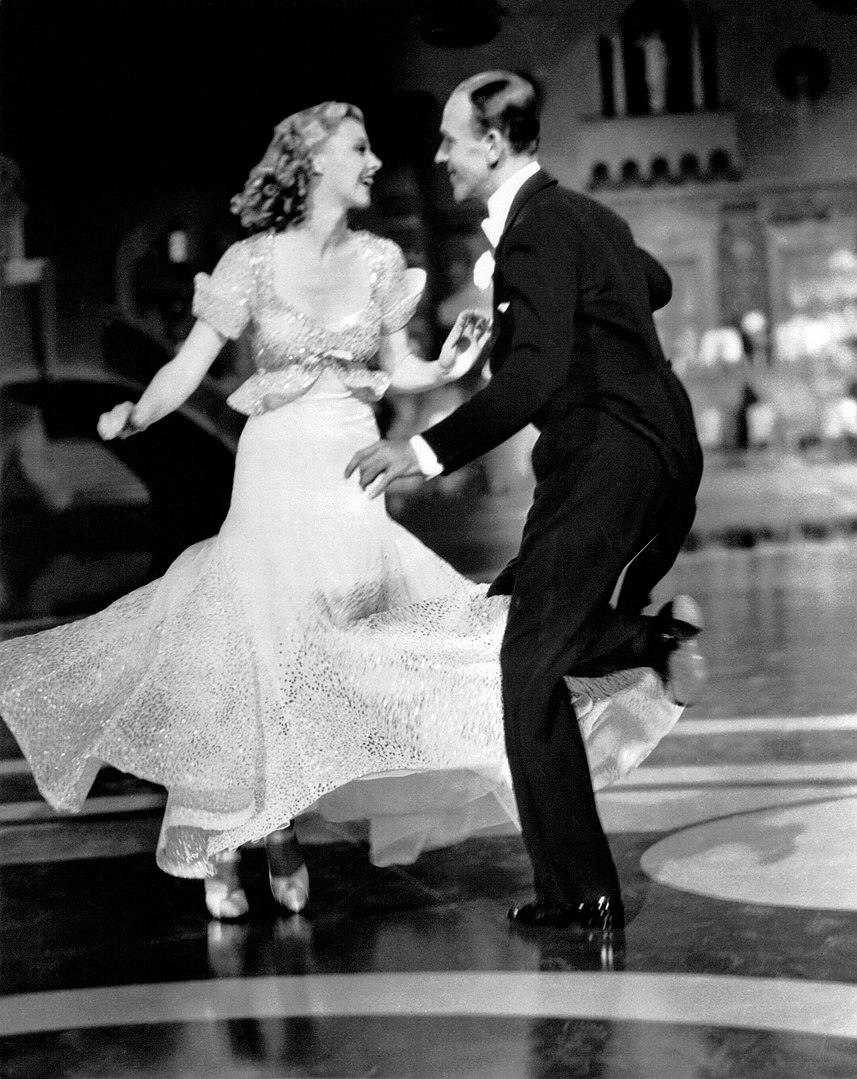 Ginger Rogers and Fred Astaire in Top Hat 1935 Wikipedia