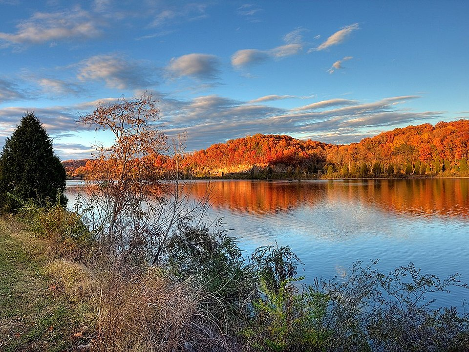 Melton Lake autumn Oak Ridge TN Wikipedia